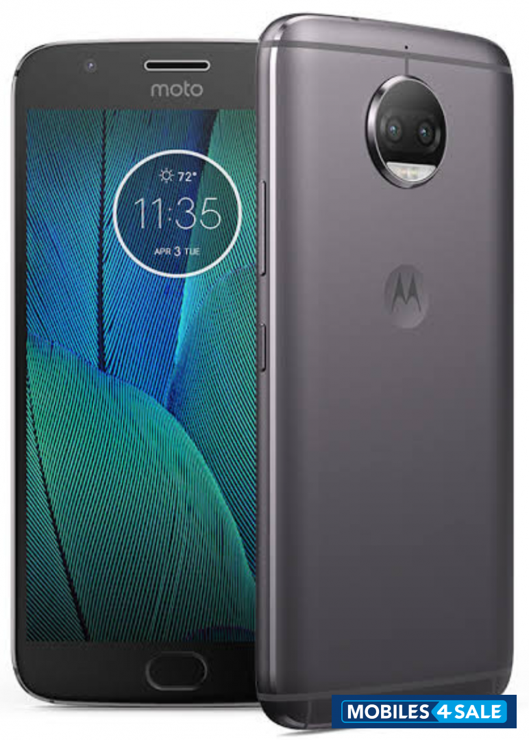 Lunar Grey Motorola  G5s plus
