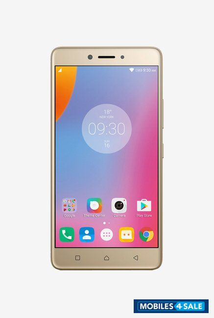 Gold Lenovo K6 Note