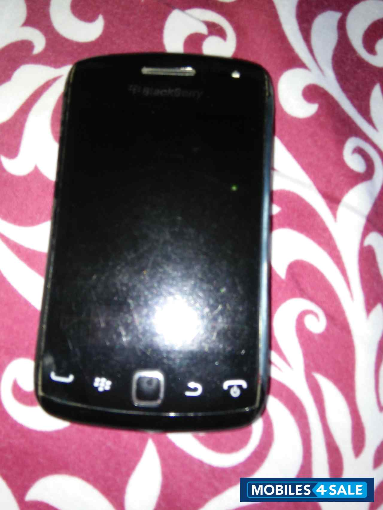 Black BlackBerry Curve 9380