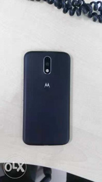 Black Motorola Moto G4 Plus