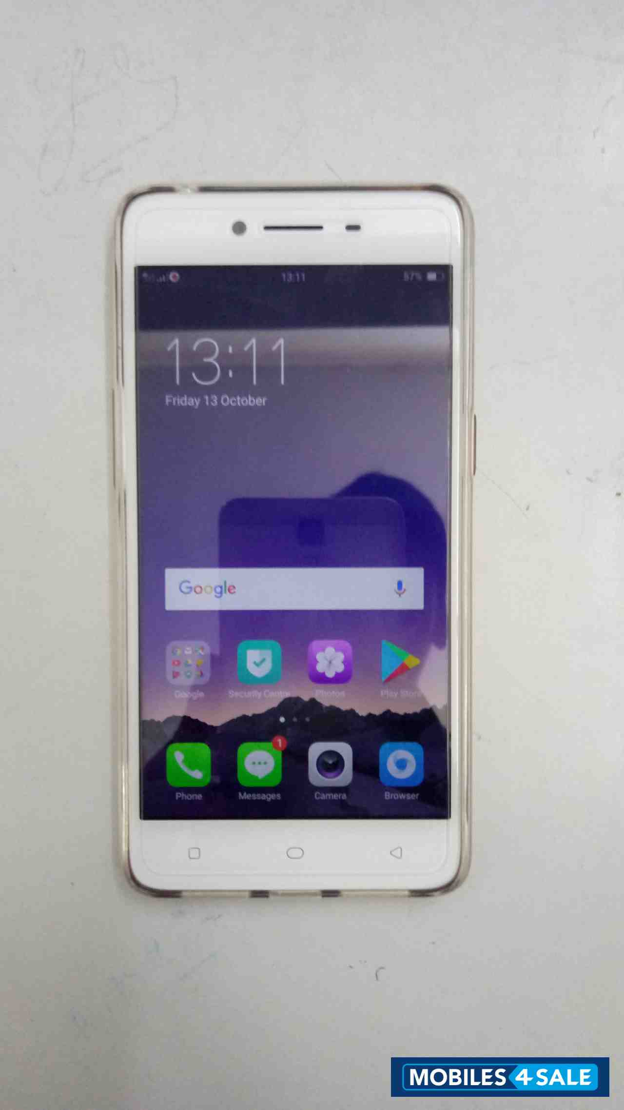 Gold Oppo A37f