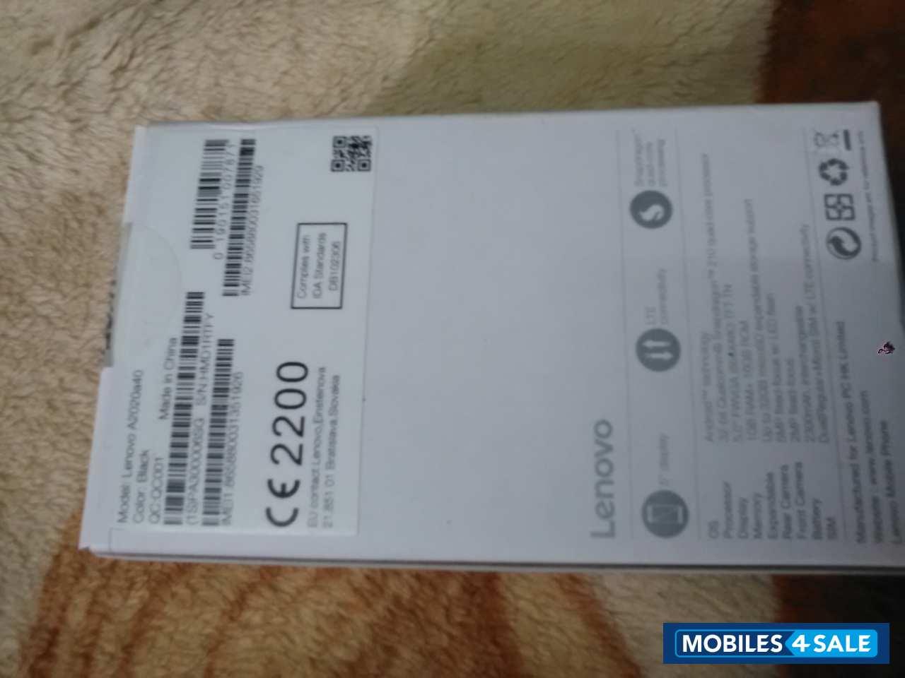 Used 2017 Lenovo A2020a40 for sale in Madurai  Black colour