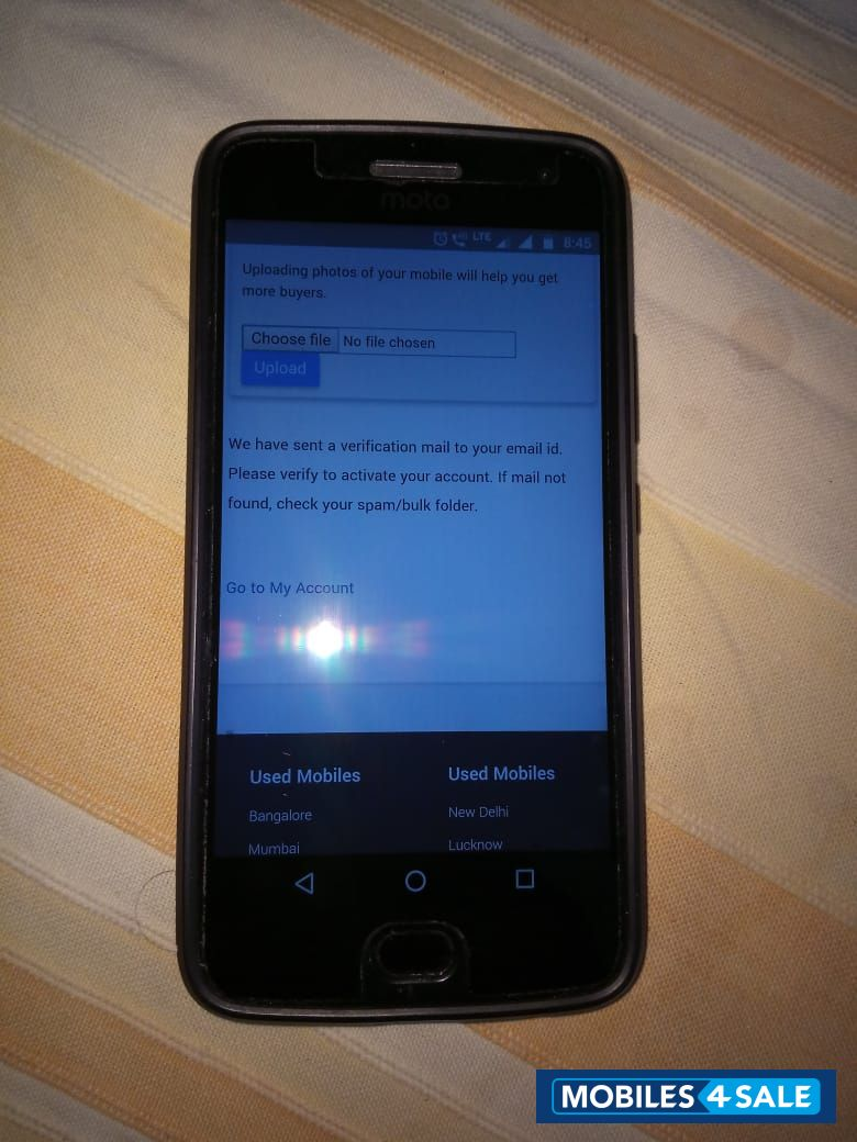 Grey Motorola Moto g5 plus Picture 1  Mobile ID 94172  Mobile