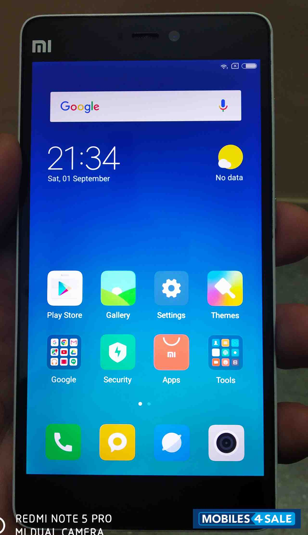 6a8982d4c84 Used 2016 Xiaomi Mi 4i 16GB for sale in Bangalore. ID is 94740 ...