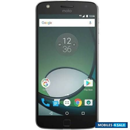 Black Motorola  Moto z play