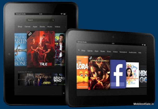 The 7 inch Kindle Fire HD