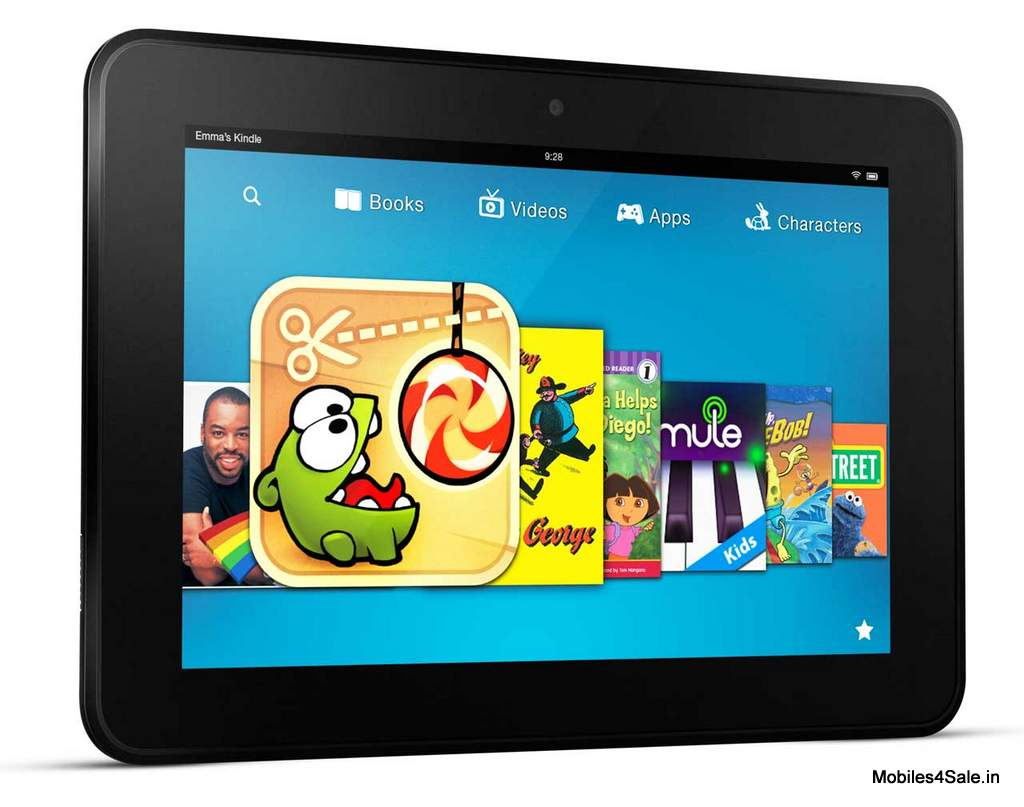 The 8.9 inch Kindle Fire HD