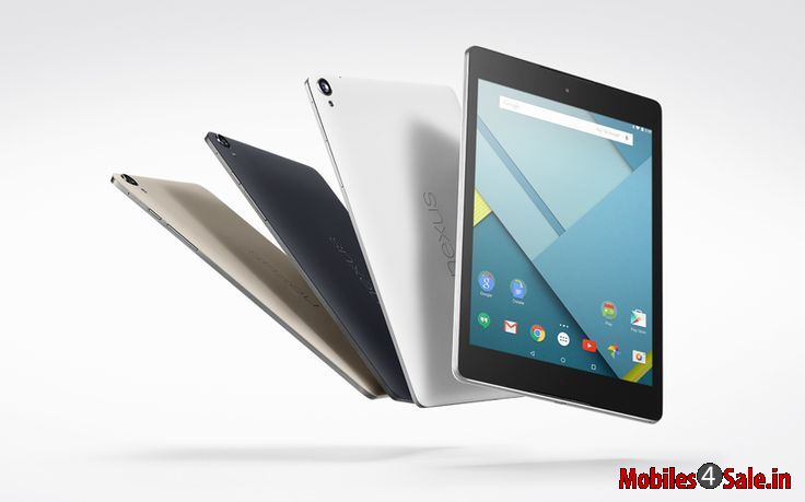 Google Nexus 9 Side and color variants