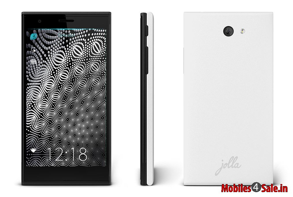 Jolla sailfish smartphone snow white
