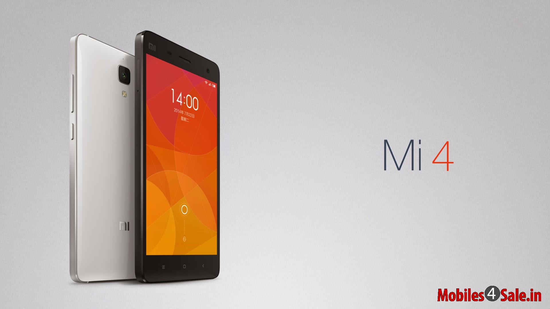 Xiaomi MI-4 Spare Parts, Software update, Price in India ...