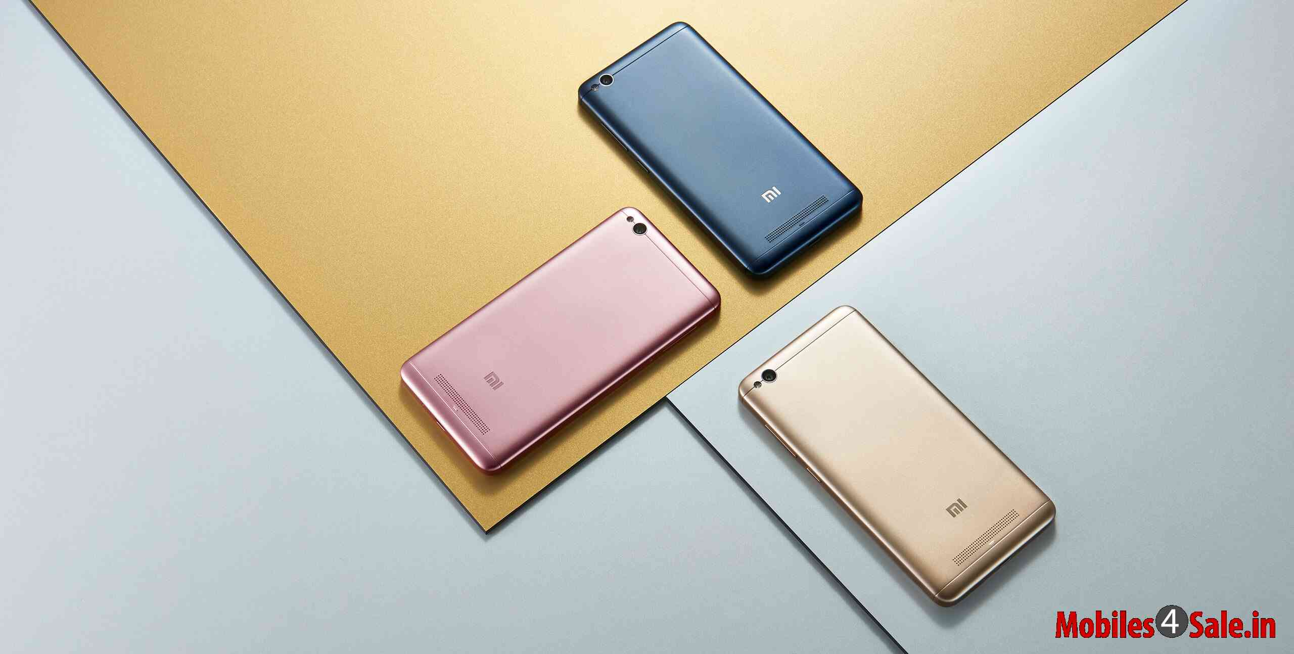Xiaomi Redmi 4A Colors