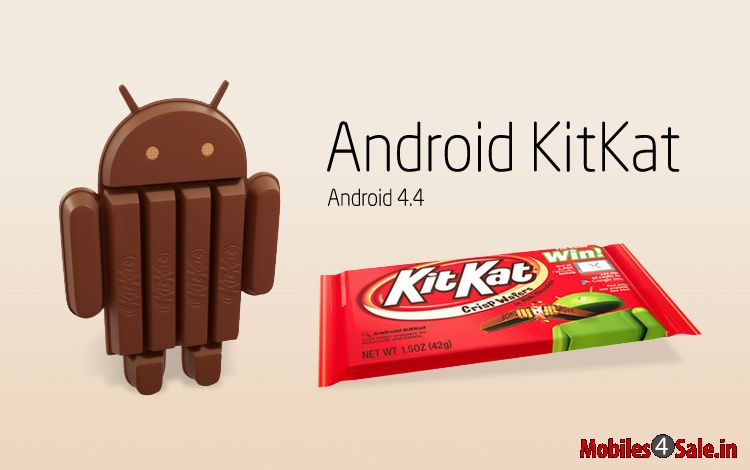 android phones having kitkat os