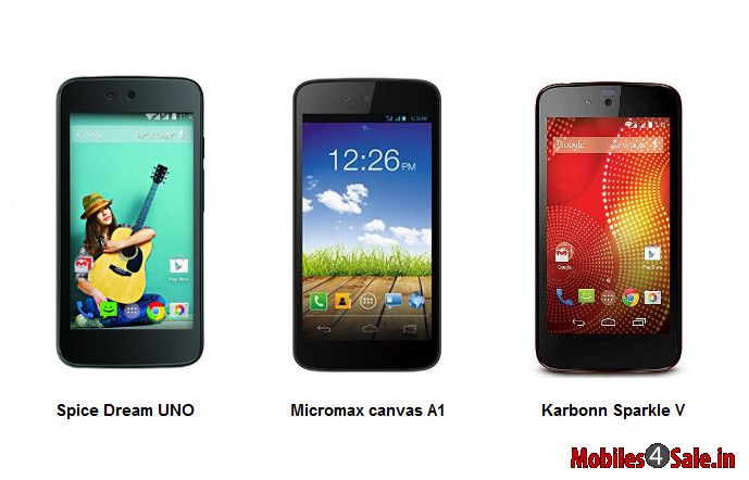 Android One smart phones