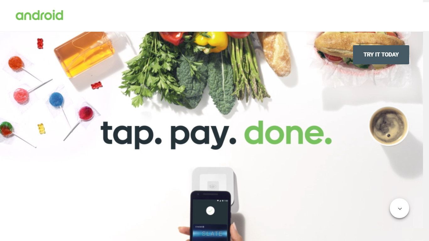 Android Pay Smartphone