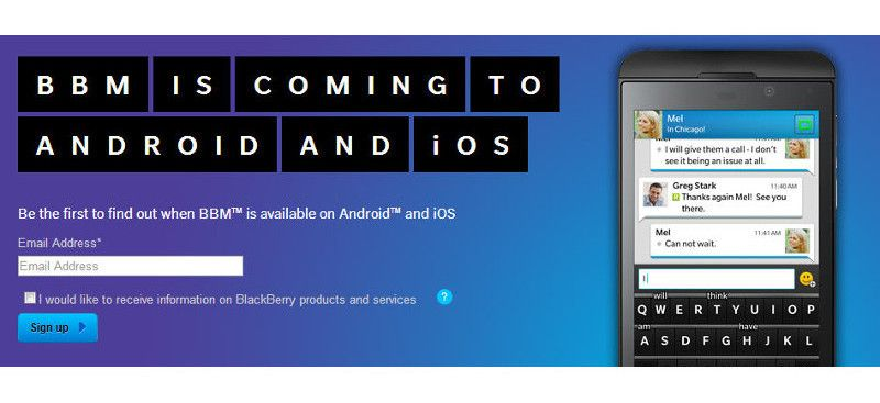 Bbm Coming To Android And Ios New