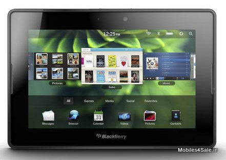 Blackberry Launches Playbook 3G Plus