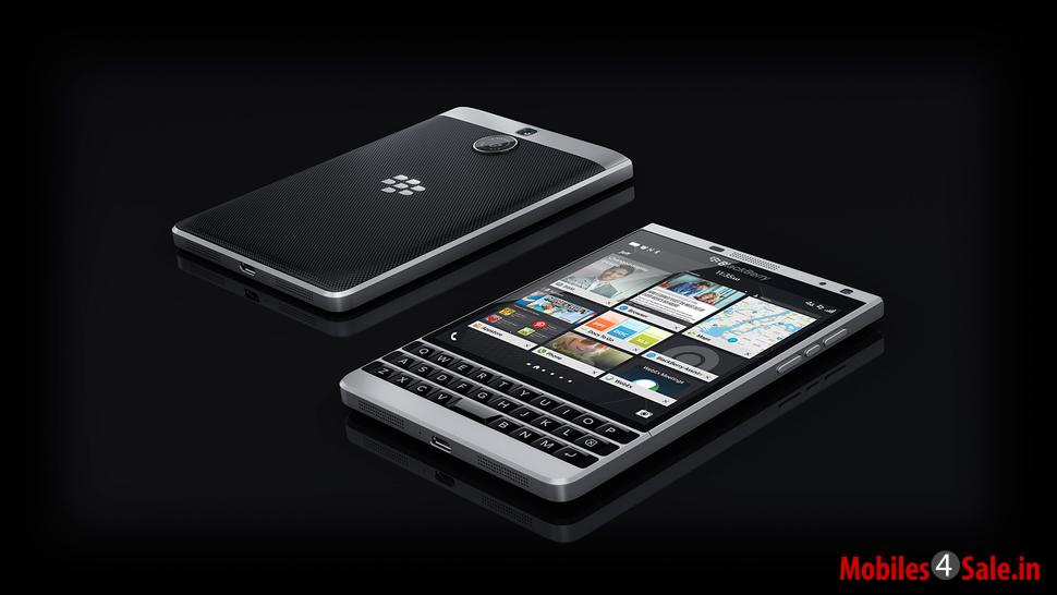 Blackberry Passport Silver Edition Back And Rear