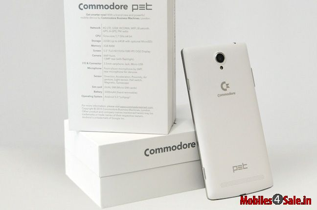 Commodore Pet Features 5 5 Inch Android Phone