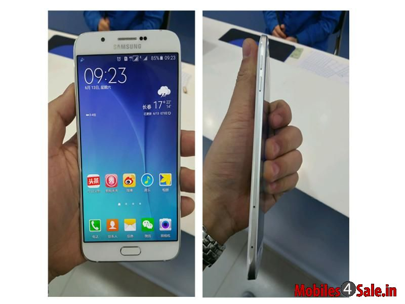 Galaxy A8 Slimmest Phone By Samsung