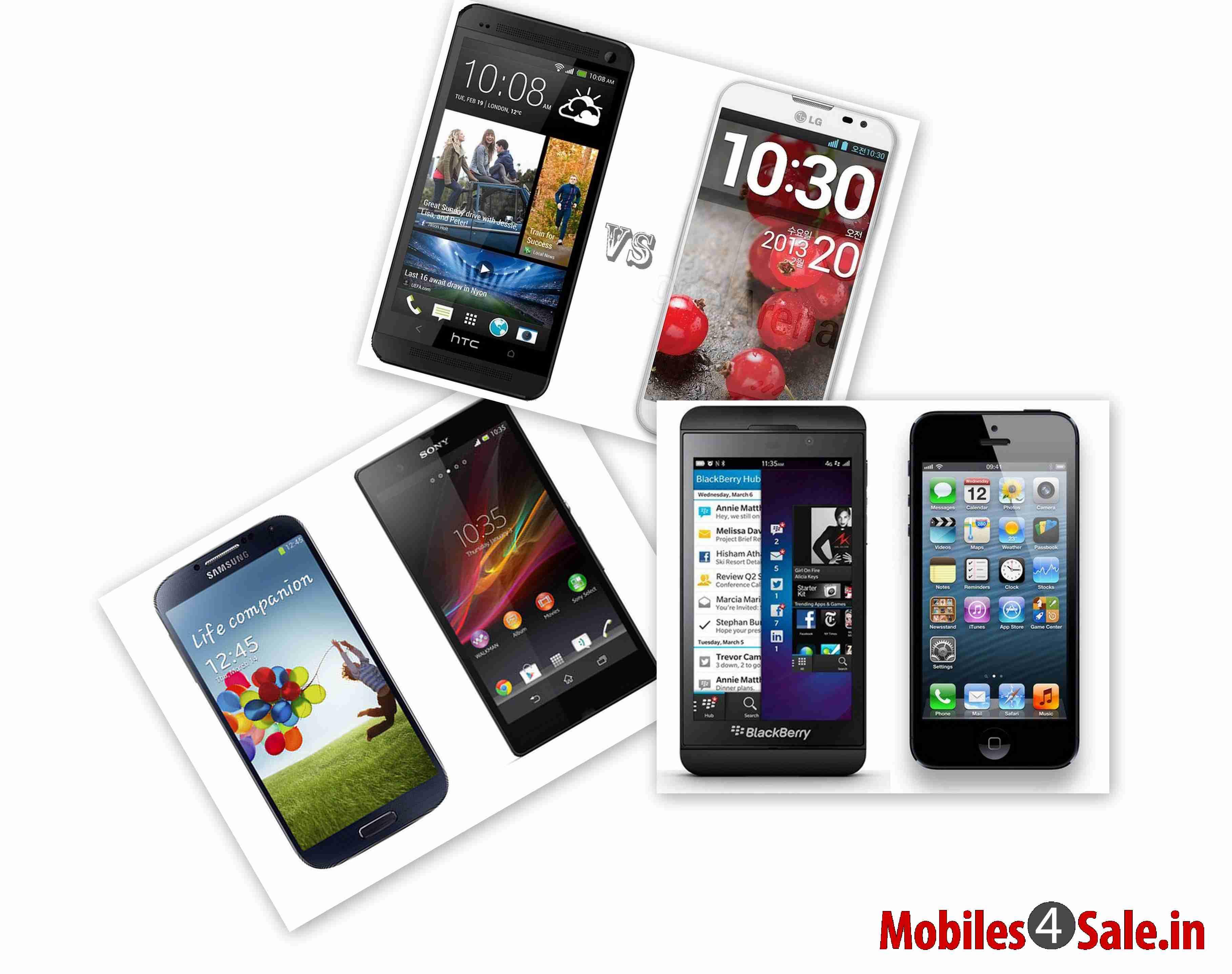 Xperia Z Vs Galaxy S4 Vs Iphone 5 Galaxy S4 Vs Xperia Z ...