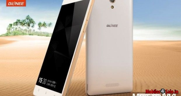 Gionee Marathon M4 Front And Rear