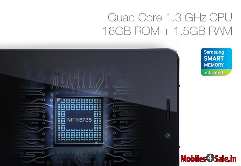 Gionee Marathon M4 Quad Core Processor
