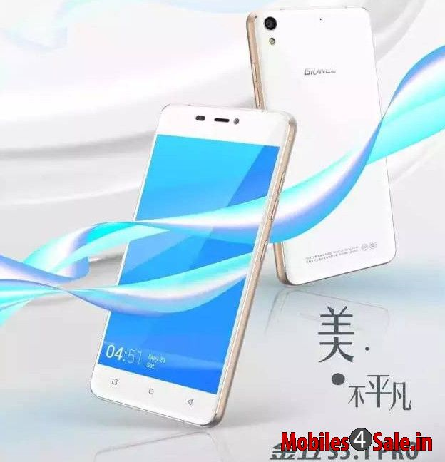 Gionee S5 1 Pro Front And Rear