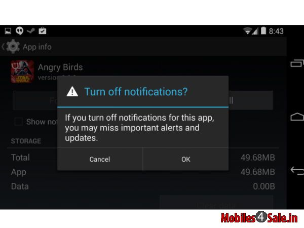 Handle Notifications