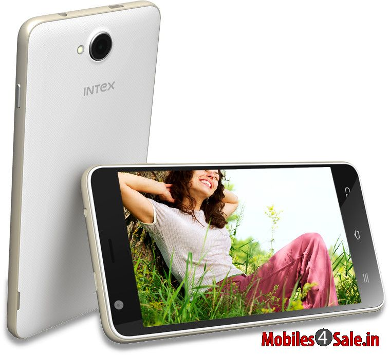 Intex Aqua Sense 5 0 Front And Back