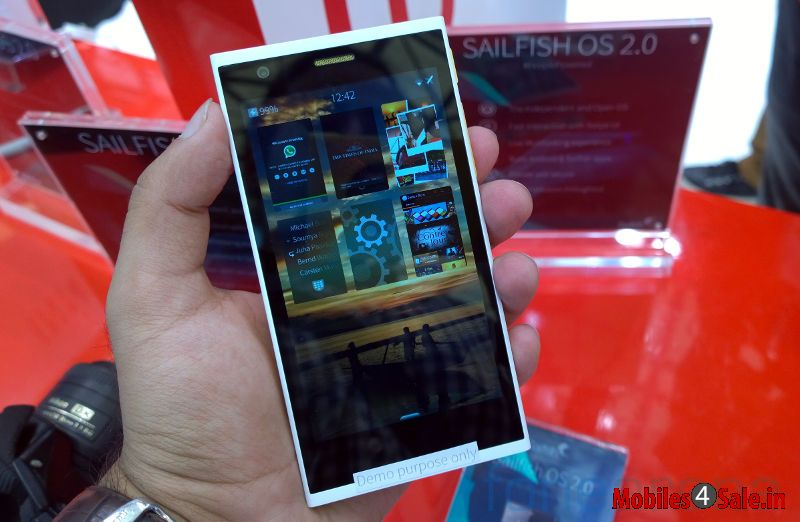 Intex Features New Phone With Sailfish Os 2 0