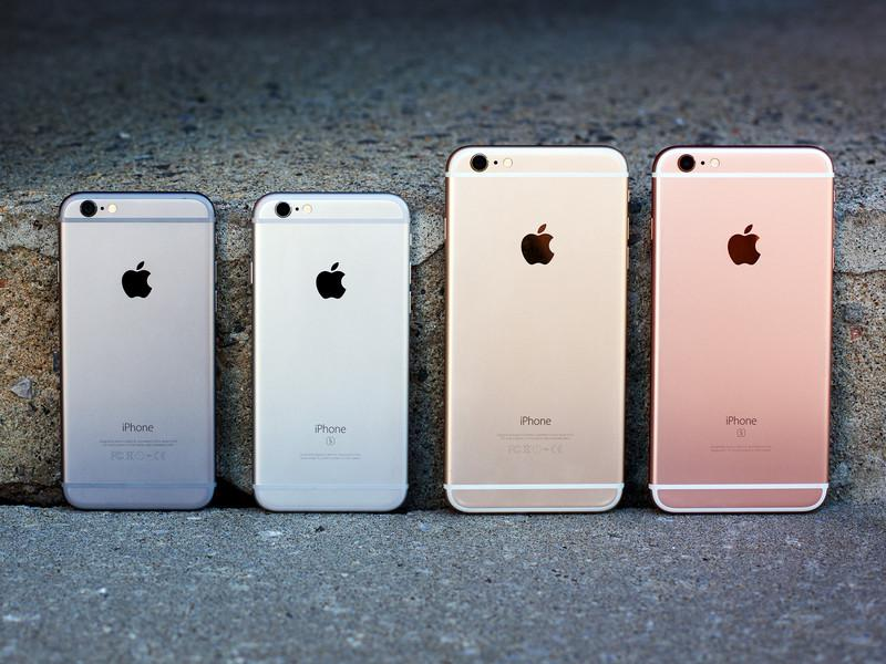 Iphone 6s 6 Colors Lineup