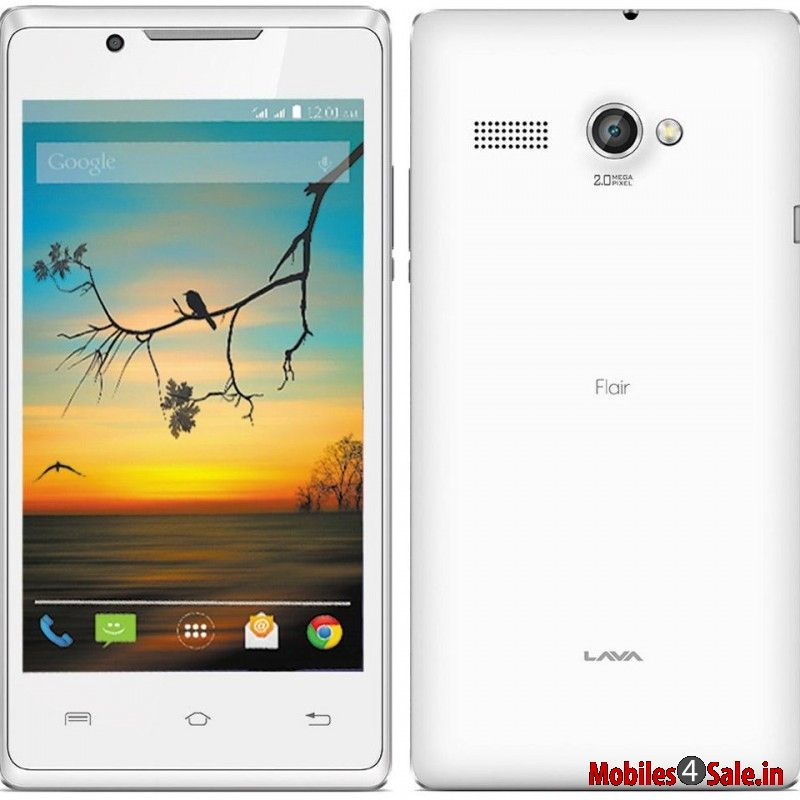 Lava Flair P1i White