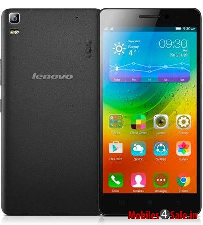Lenovo A7000 Rearview Black