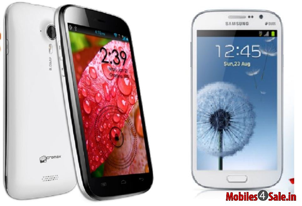 Micromax Canvas A116 HD vs Samsung Galaxy Grand Duos