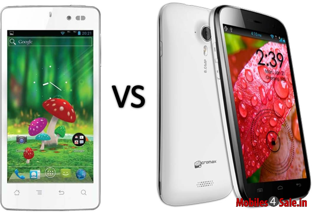 Micromax Canvas A116 HD vs Karbonn S1 Titanium