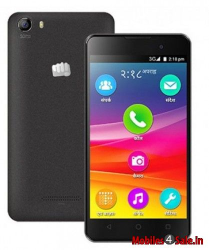 Micromax Canvas Spark2 Black