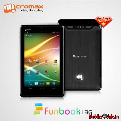 Micromax Funbook 3G