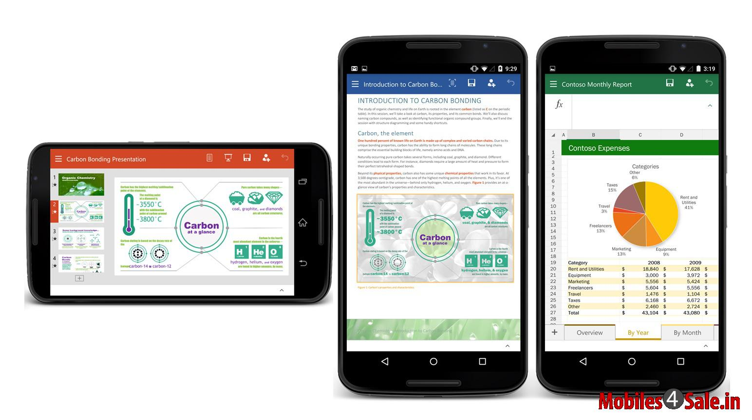 Microsoft Office On Android And Ios