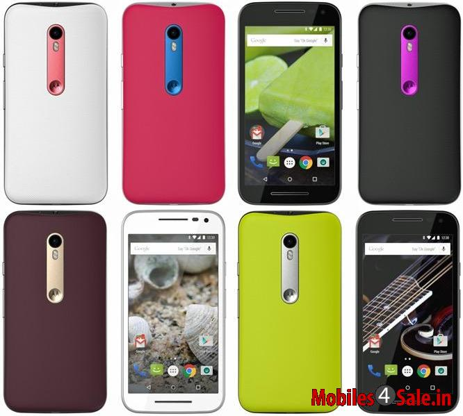 Moto G 2015 Combination Rear Panels