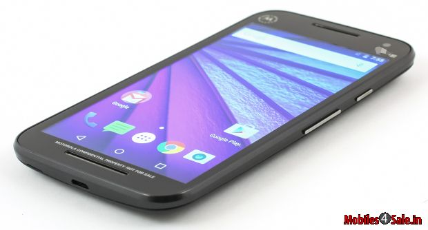Moto G 3 Side View