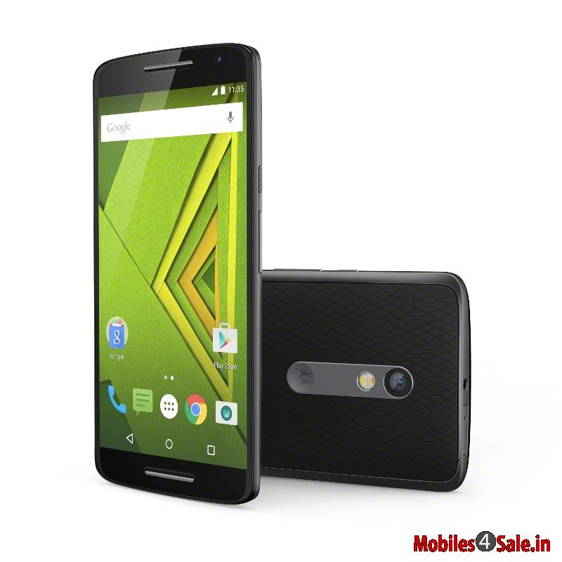Moto X Play Black Color Variant