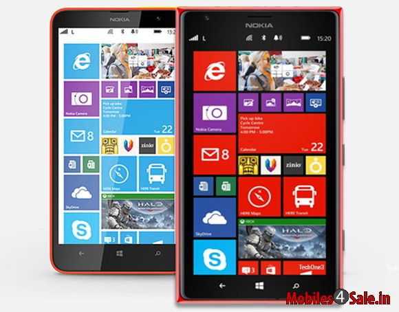 Nokia Lumia 1520 and Lumia 1320