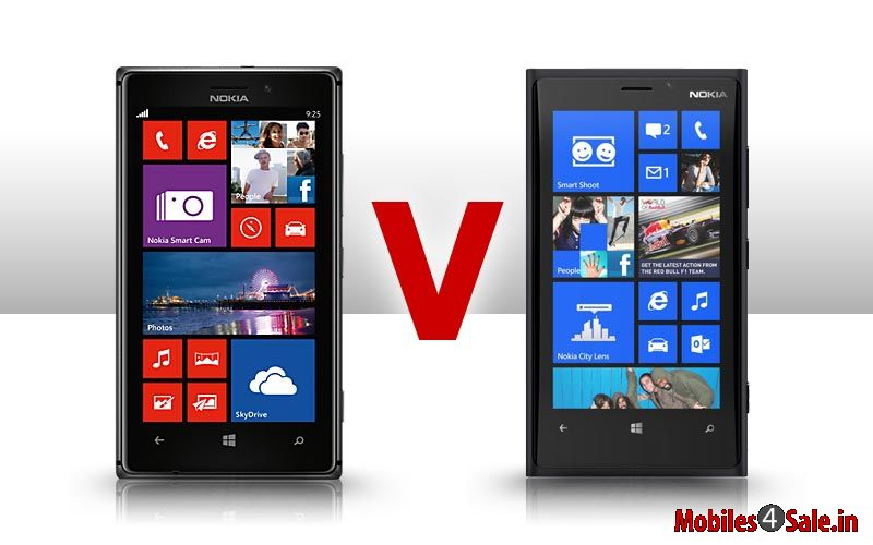 Nokia Lumia 920 Vs Nokia Lumia 925