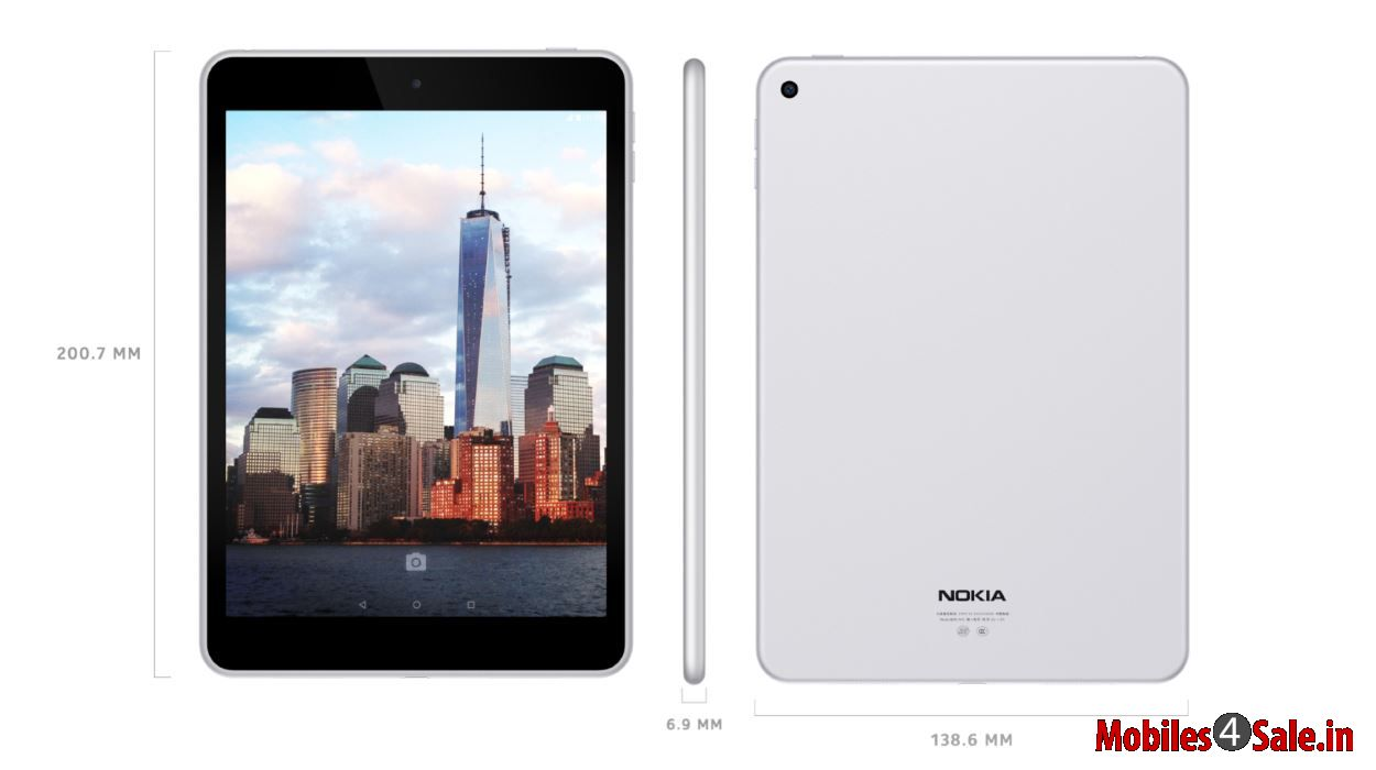 Nokia N1 Tablet With Full Aluminum Uni Body