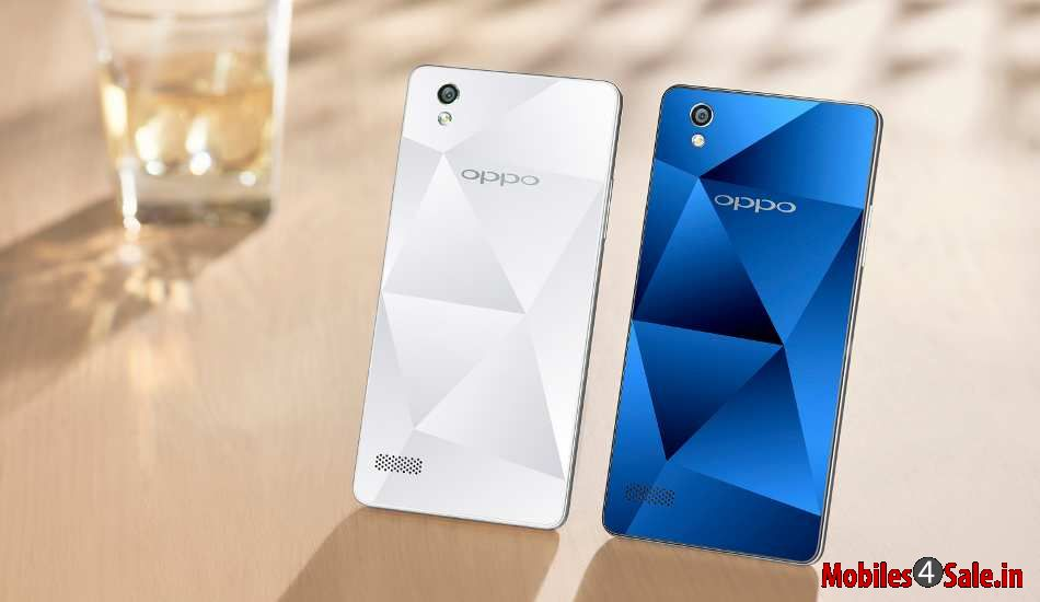 Oppo Mirror 5 With Blue And White Color Variants