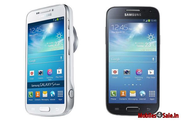 Samsung Galaxy S4 Mini and Samsung Galaxy S4 Zoom