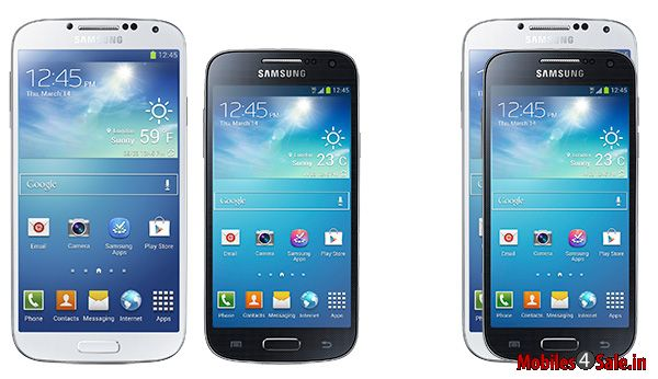 Samsung Galaxy S4 and Samsung Galaxy S4 Mini