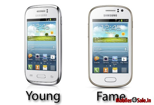 Samsung Galaxy Young and Galaxy Fame