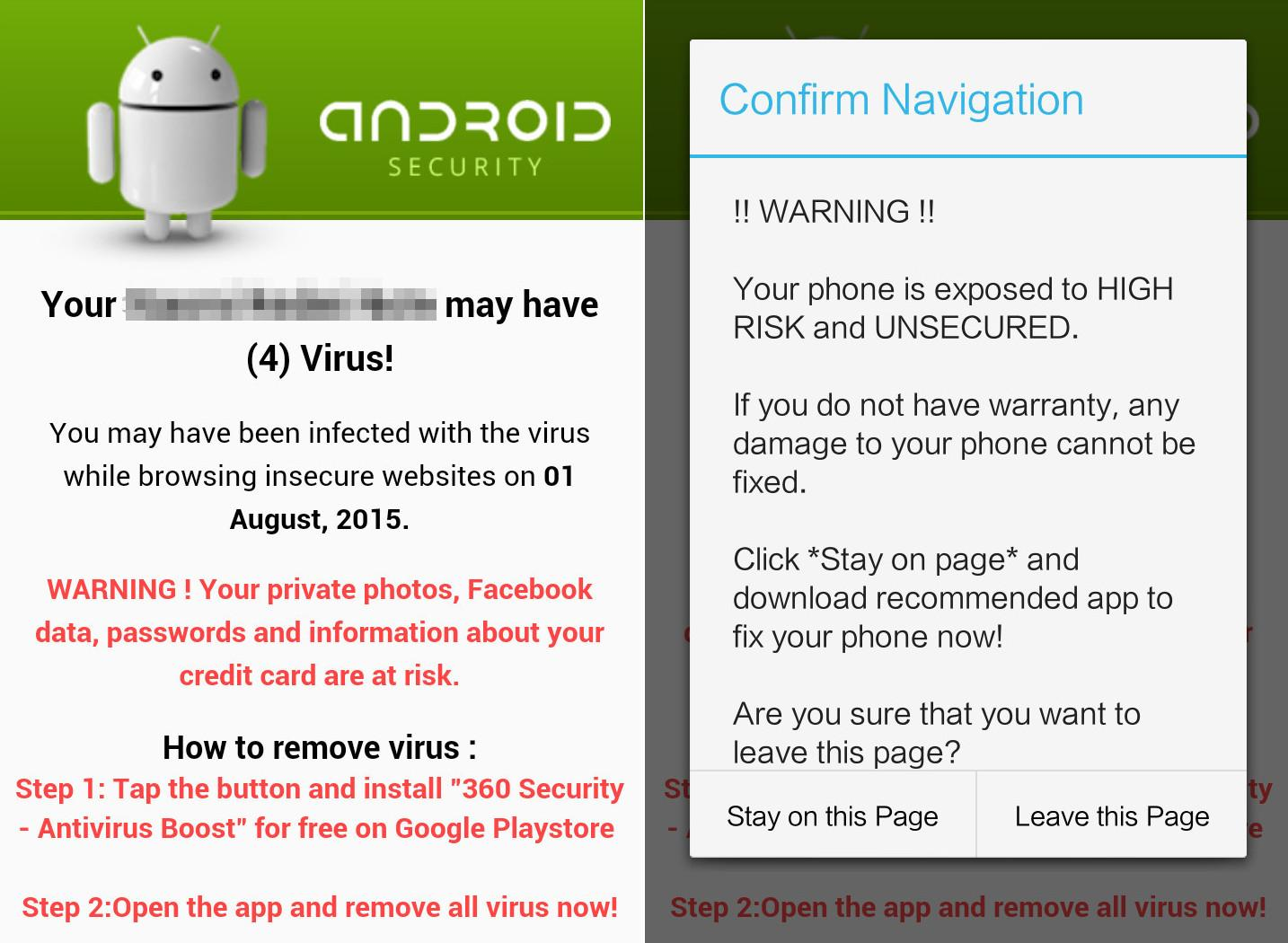 Scareware Android