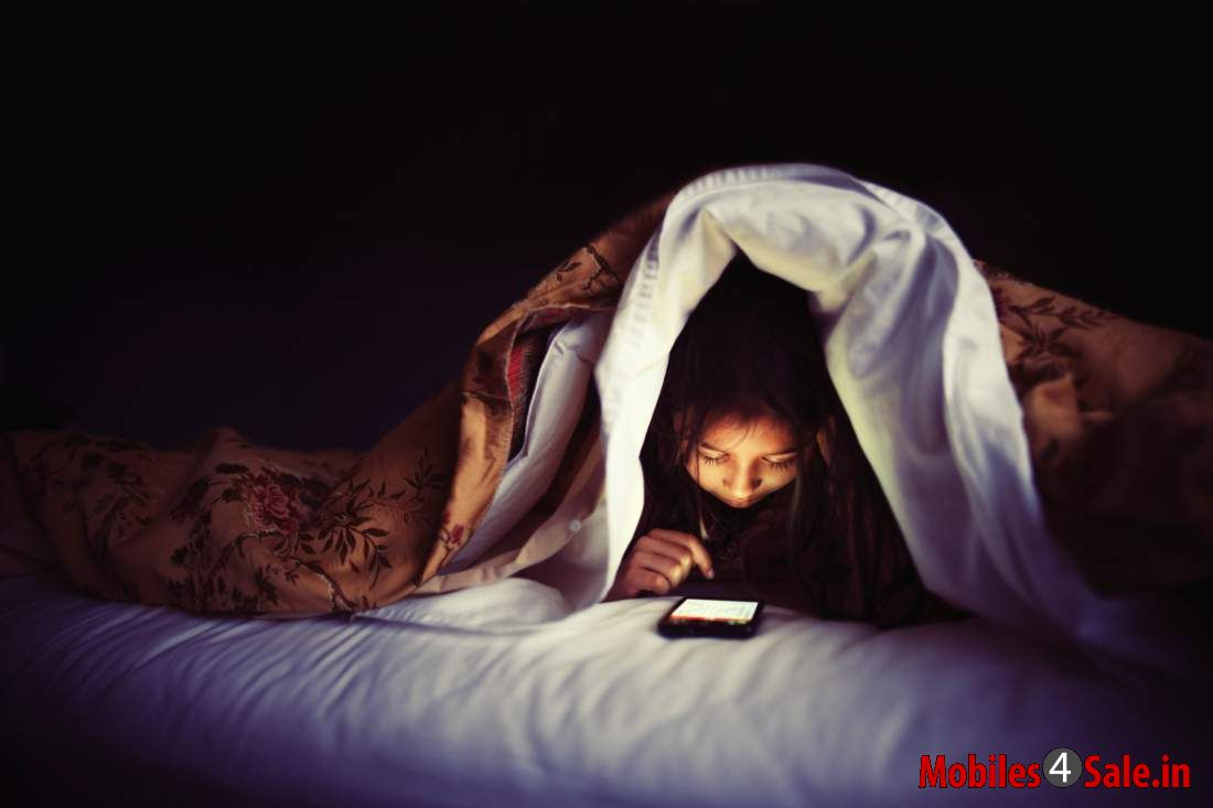 Smartphones In Bed